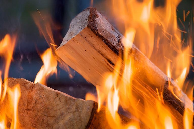 Drewno kominkowe iopał